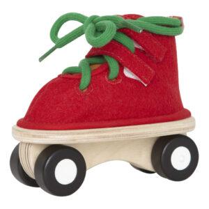 Rode Schaats Strikken Hape Speelgoed Hape-E1018