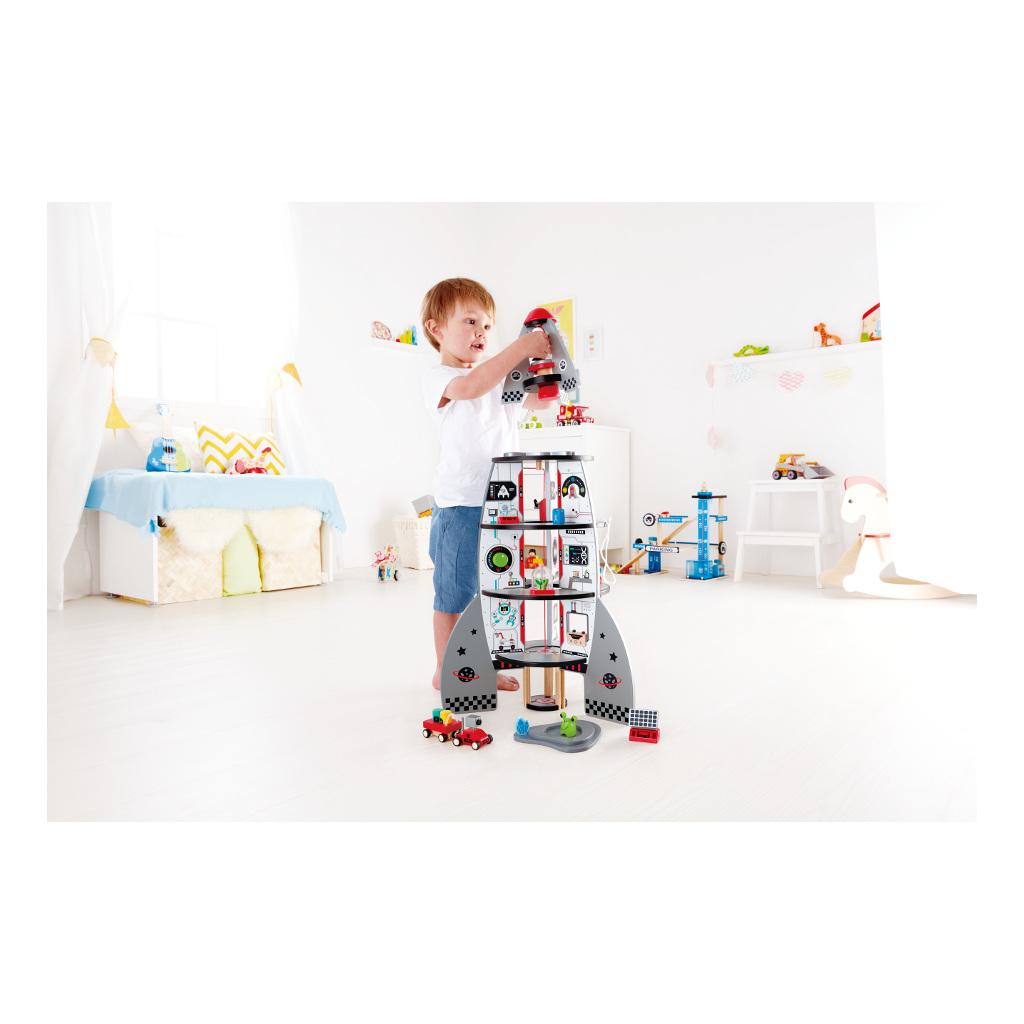 Ruimteschip Vier Etages Hape Speelgoed Hape-E3021