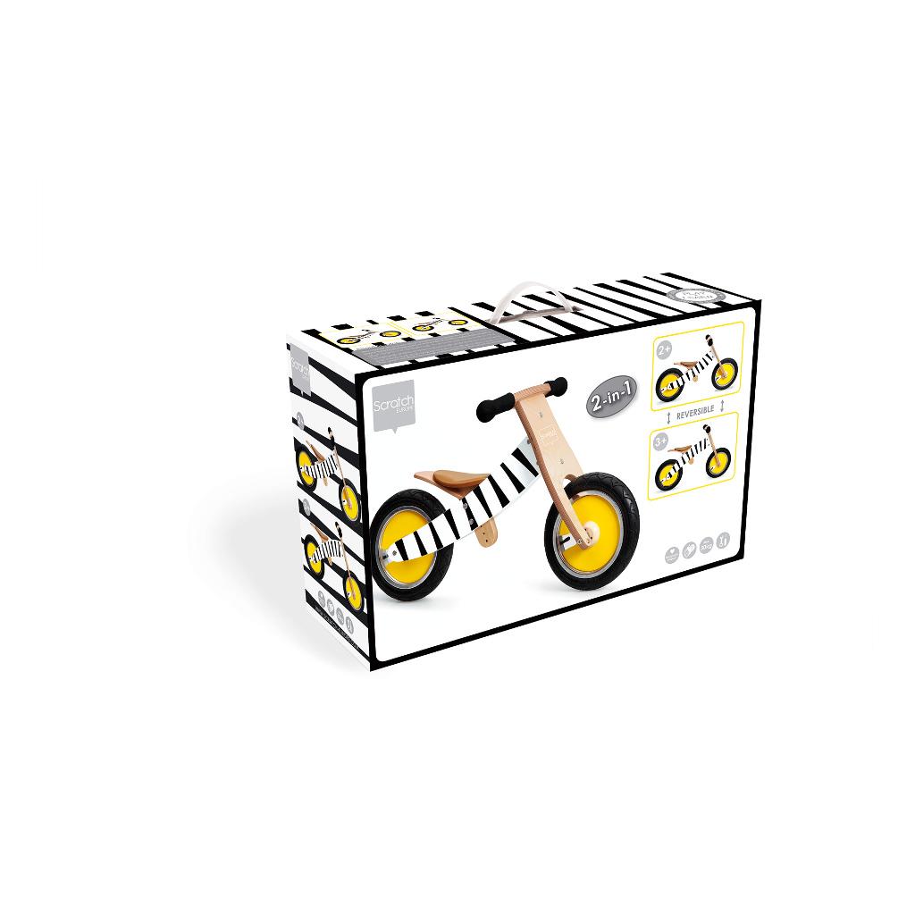 Scratch Loopfiets Zebra Print Doos Verpakking scra-6181438