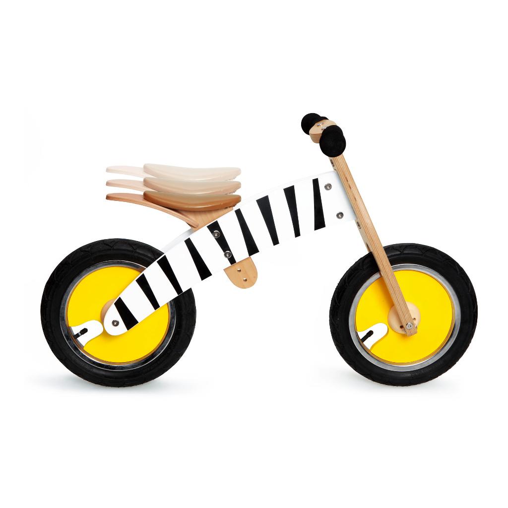 Scratch Loopfiets Zebra Print Zachte Handvaten Opblaas Banden scra-6181438