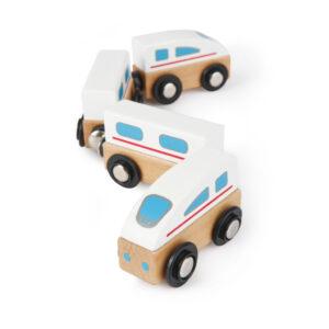 Snelle Magnetische Trein Hape Speelgoed Hape-E0914