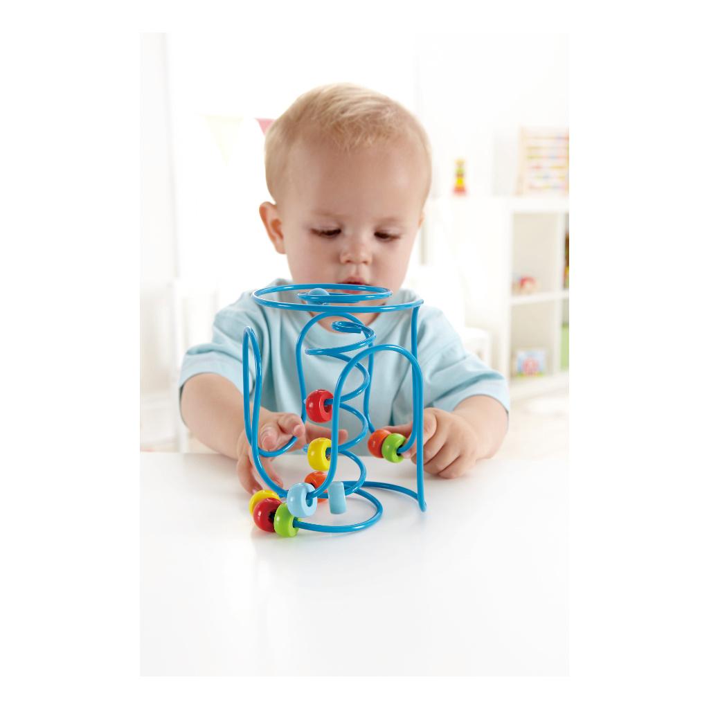 Spring-A-Ling Kraalspiraal Hape Speelgoed Dreumes peuter Handig MeenemenHape-E1800