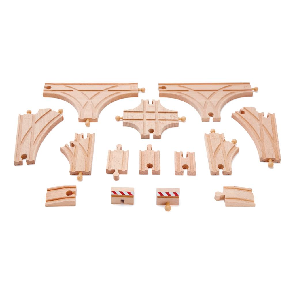 Super Uitbreidingsset Treinsporen Hape Speelgoed Hape-E3708