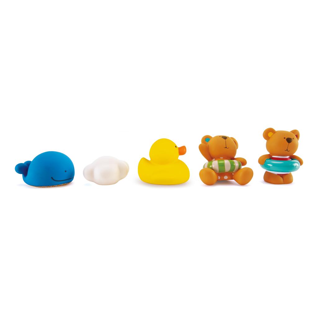 Teddy En Vrienden Badfiguren Bad Parade Hape Speelgoed Hape-E0201