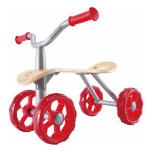Trail Rider Loopfiets Hape Speelgoed 4 Wieler Hout Metaal Hape-E1054