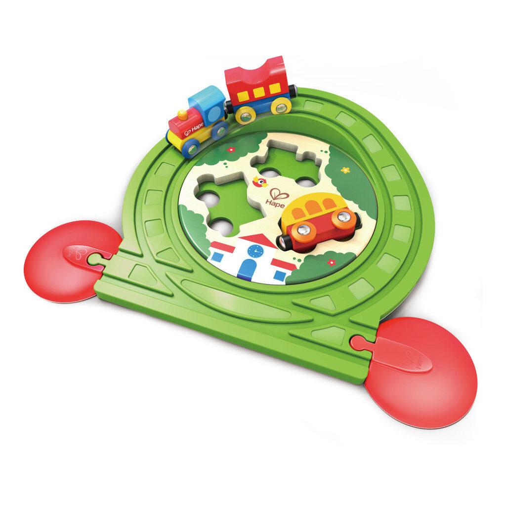 Trein Puzzel Railway Hape Speelgoed Hape-E3819