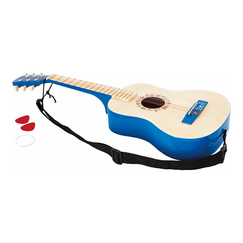 Vibrant Blue Guitar Hape Speelgoed Hape-E0326