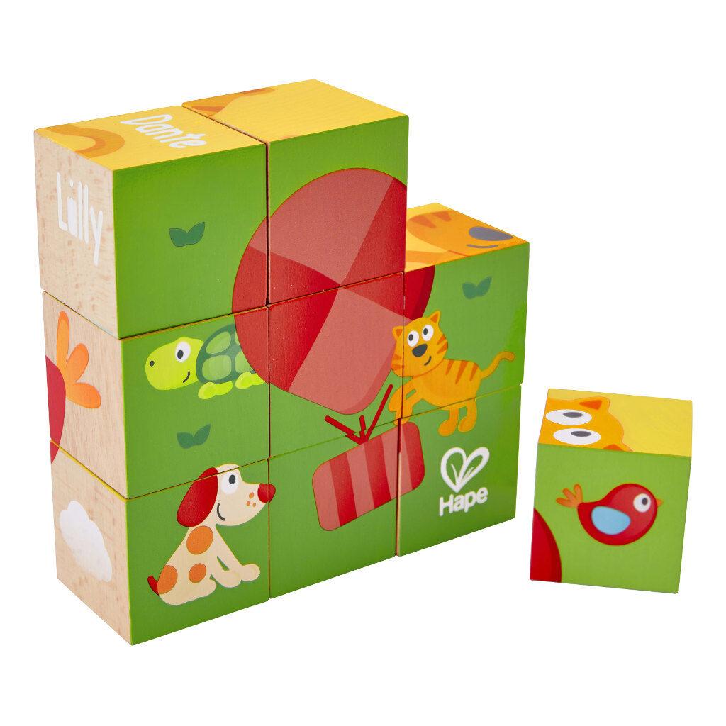 Vriendschap Blokpuzzel Hape Speelgoed Hape-E0452