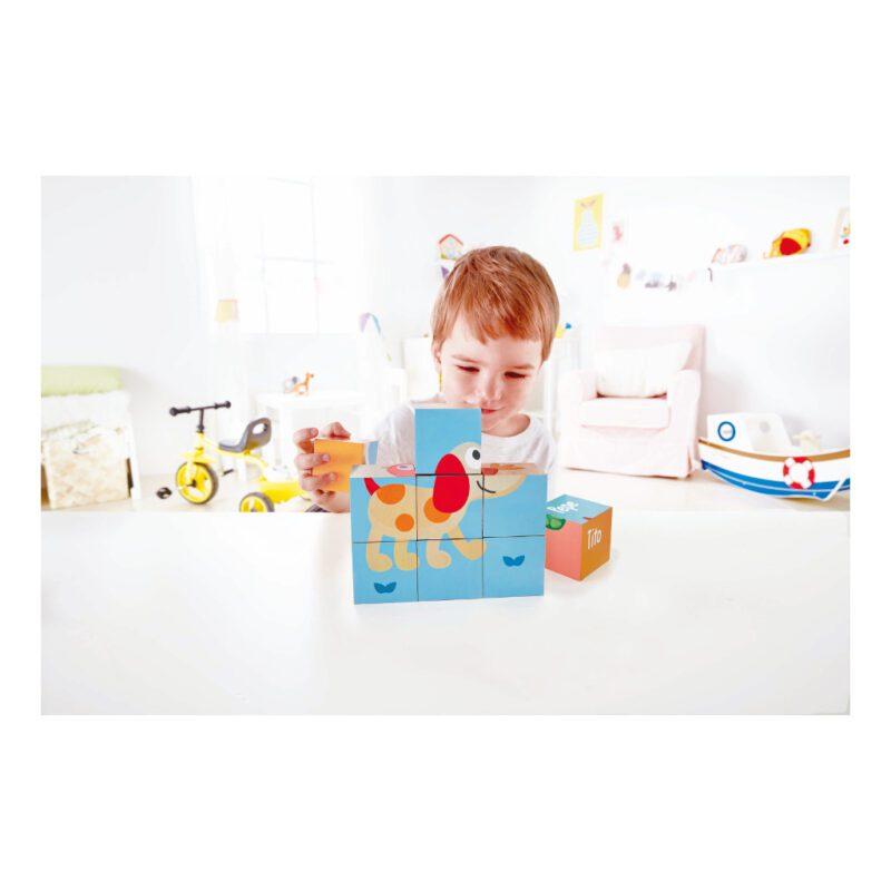 Vriendschap Blokpuzzel Hape Speelgoed Peuter Kleuter Hape-E0452