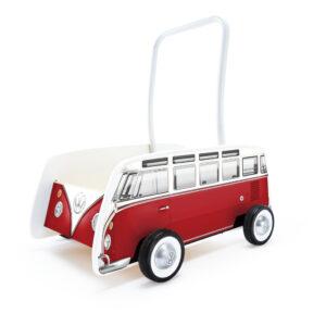 Vw Bus Rood Loopwagen Hape Speelgoed Hape-E0379