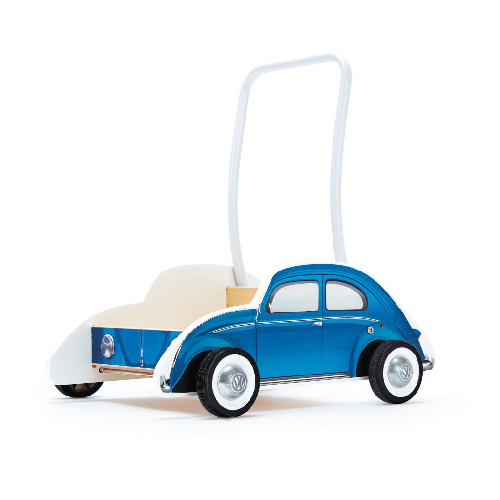 Vw Kever Blauw Loopwagen Hape Speelgoed Hape-E0382