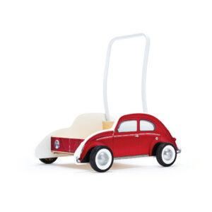 Vw Kever Rood Loopwagen Hape Speelgoed Hape-E0380