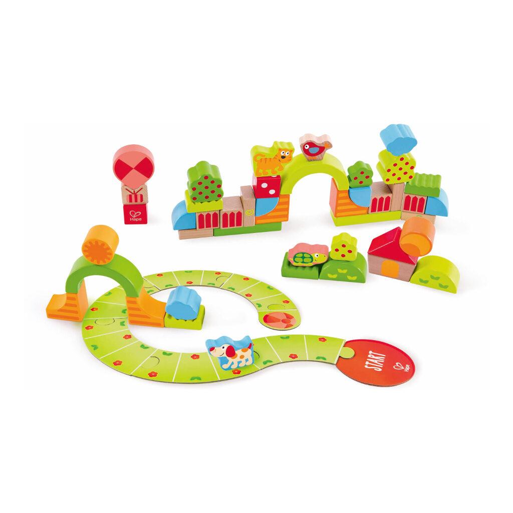 Zonnige Vallei Blokken Hape Speelgoed Hape-E0449