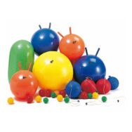 25 Ballen Div. Maten En Vormen Skippybal Groot Weplay Wepl-Kb1300