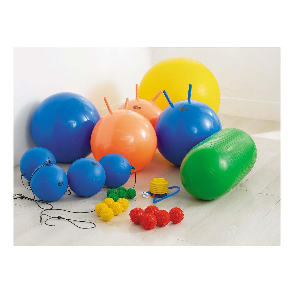 25 Ballen Div. Maten En Vormen Weplay Groot Klein Gymen Wepl-Kb1300