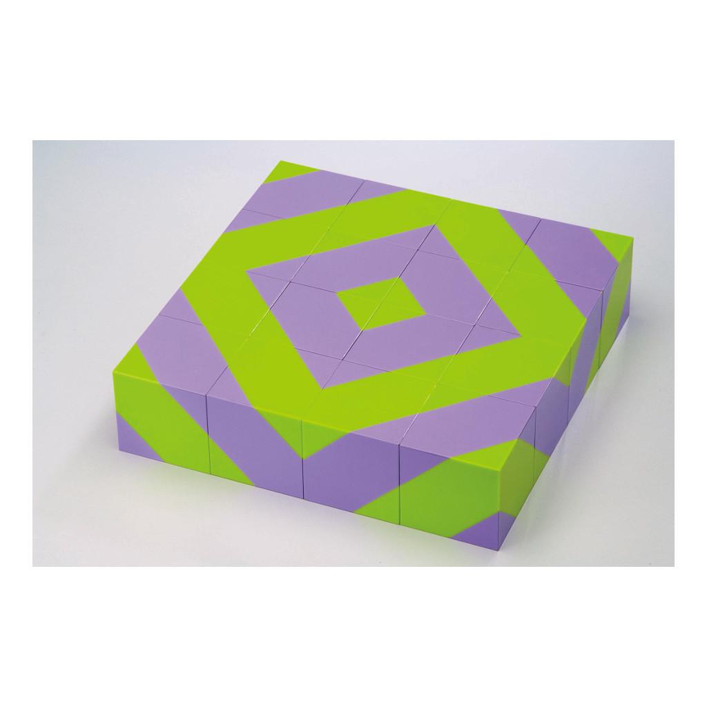 Blokpuzzel Bos 16 Stuks Weplay Cognitief Groen Paars Wepl-Kc2005