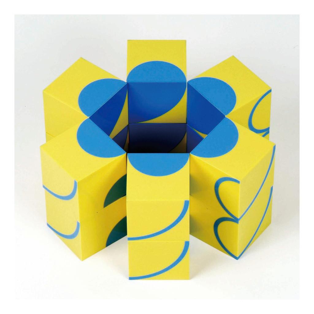 Blokpuzzel Cirkels 16 Stuks Weplay Creatief Puzzel Ontdekken Wepl-Kc2003