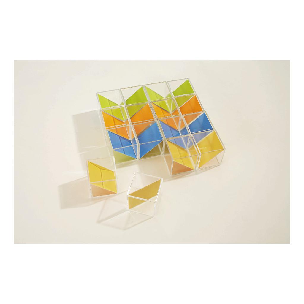 Kristal Blokken 16 Stuks Weplay OntdekkenWepl-Kc2001