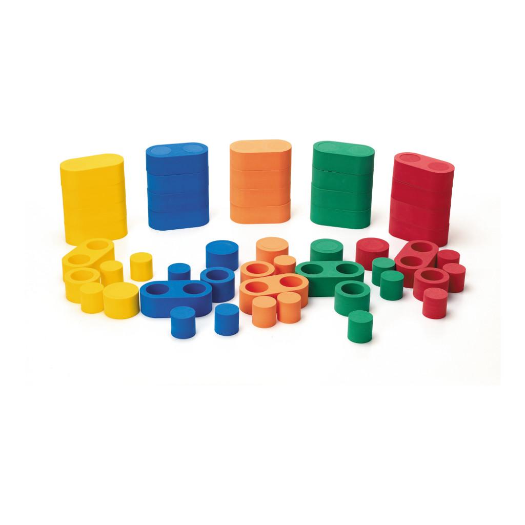 Linkits Bouwstenen 95 Stuks Weplay Verschillende Kleuren Wepl-Kc2103