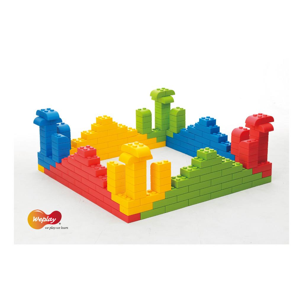 Q-Blokken 32 Stuks Weplay Bouwen Puzzelen Wepl-Kc0004-032
