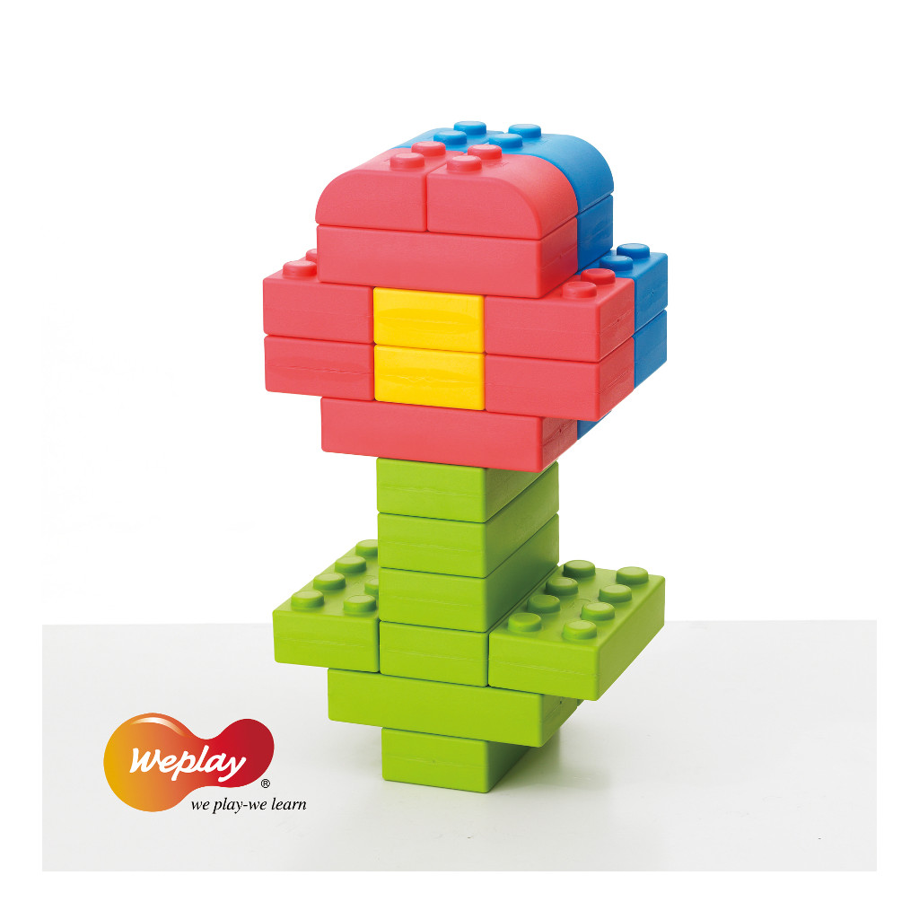 Q-Blokken 32 Stuks Weplay Verschillende Kleuren Wepl-Kc0004-032