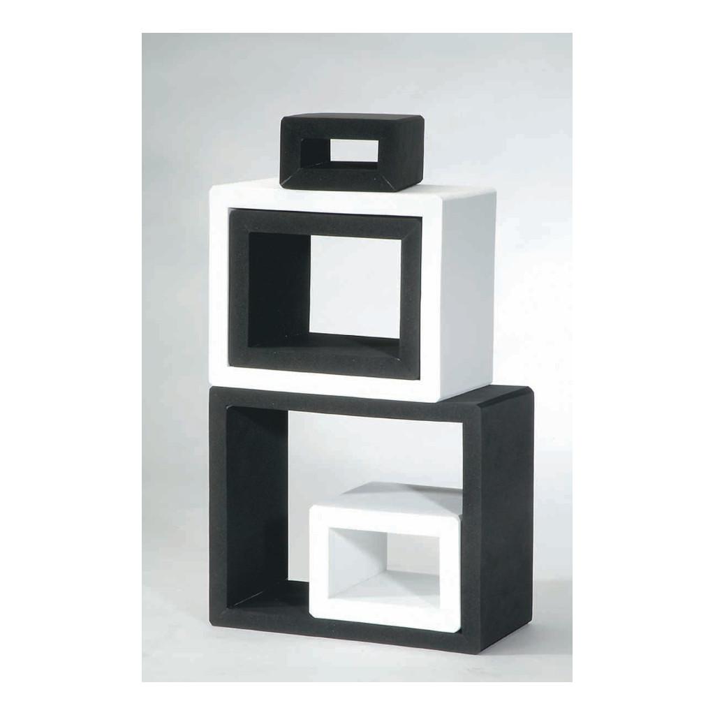 Raam Bouwstenen Zwart Wit Weplay Cognitief Creatief Wepl-Kc2104-0Kw