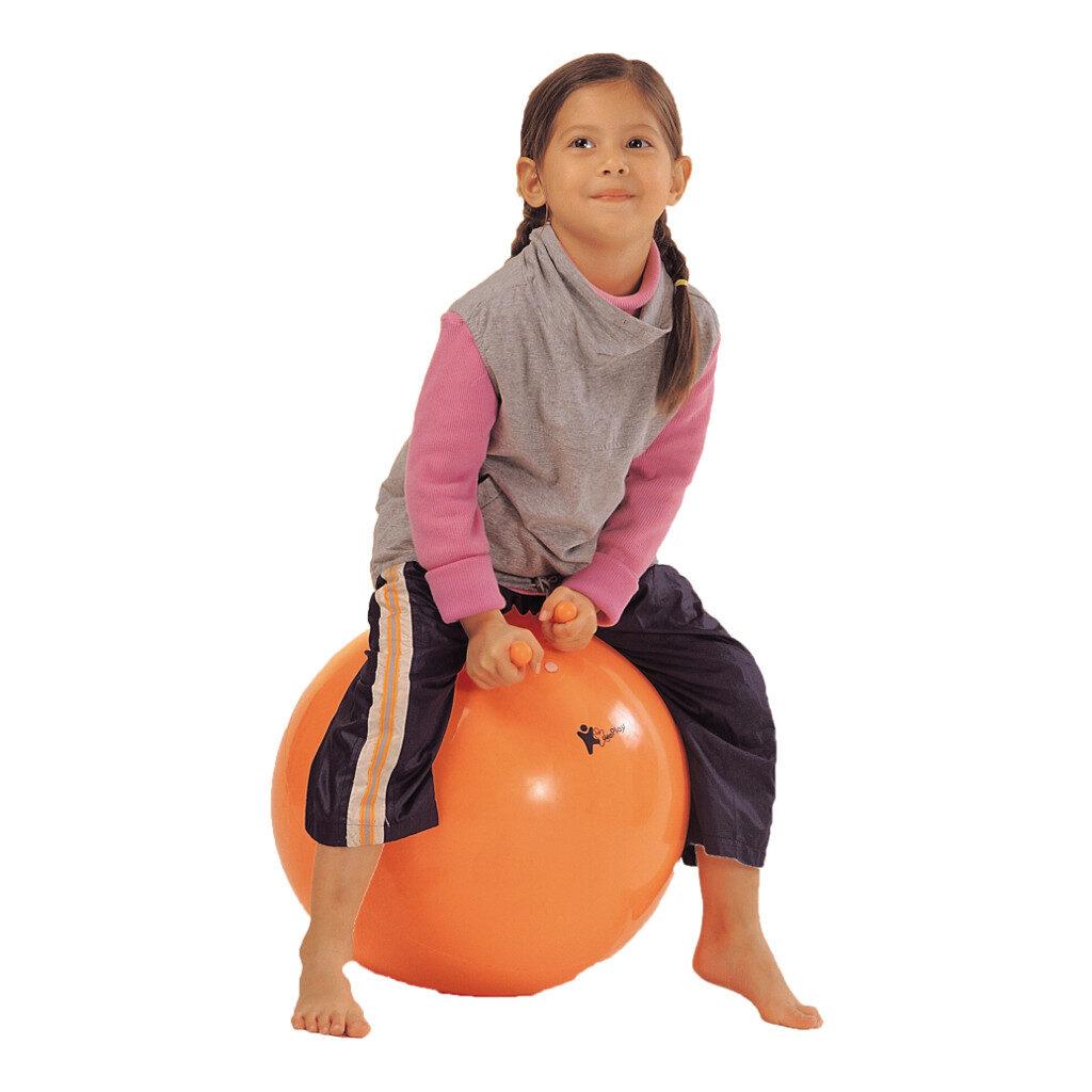 Skippybal 40 Cm Weplay Blauw en Oranje Wepl-Kb1302