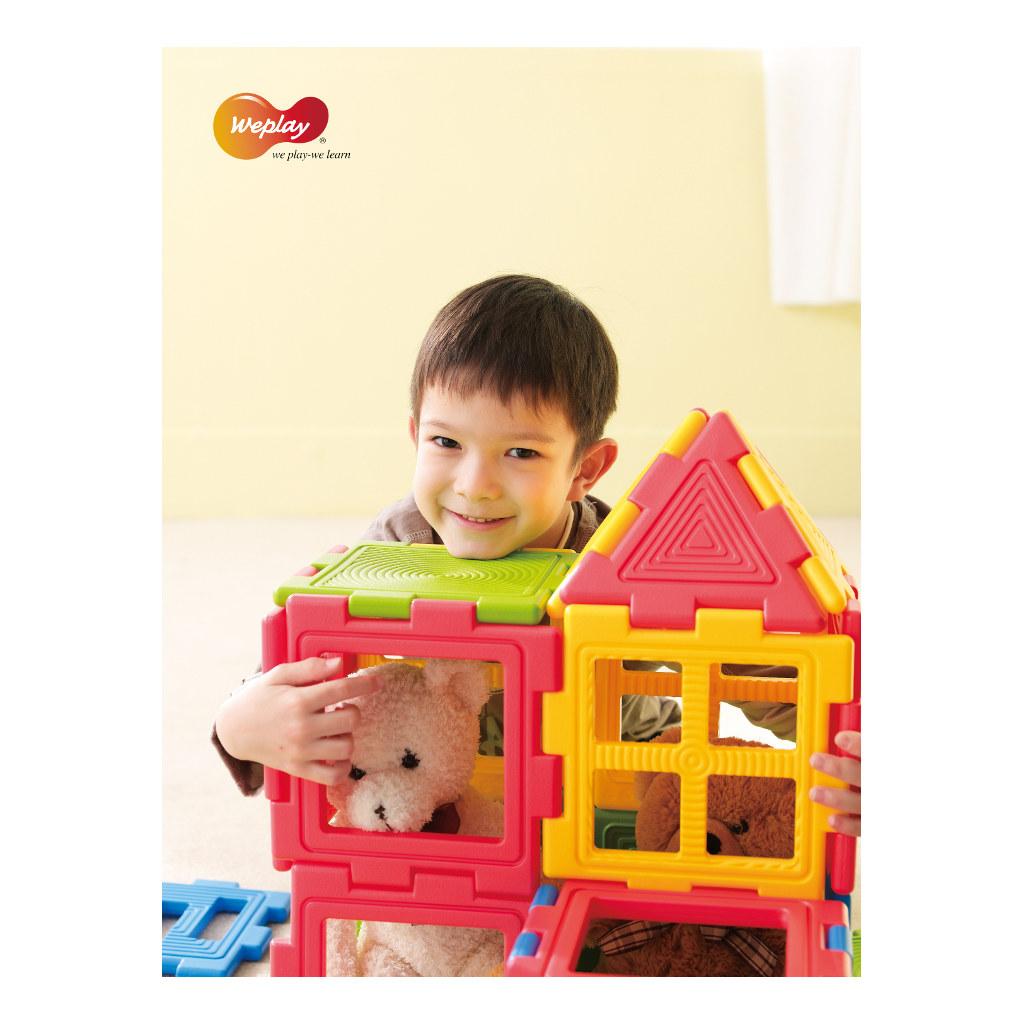 We-Blocks Mini 28 Stuks Weplay Bouwen Huis Wepl-Kc3002-028