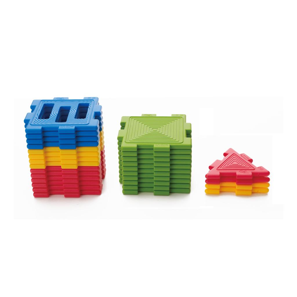 We-Blocks Mini 28 Stuks Weplay Uitbereiding KDV Peuterspeelzaal Wepl-Kc3002-028