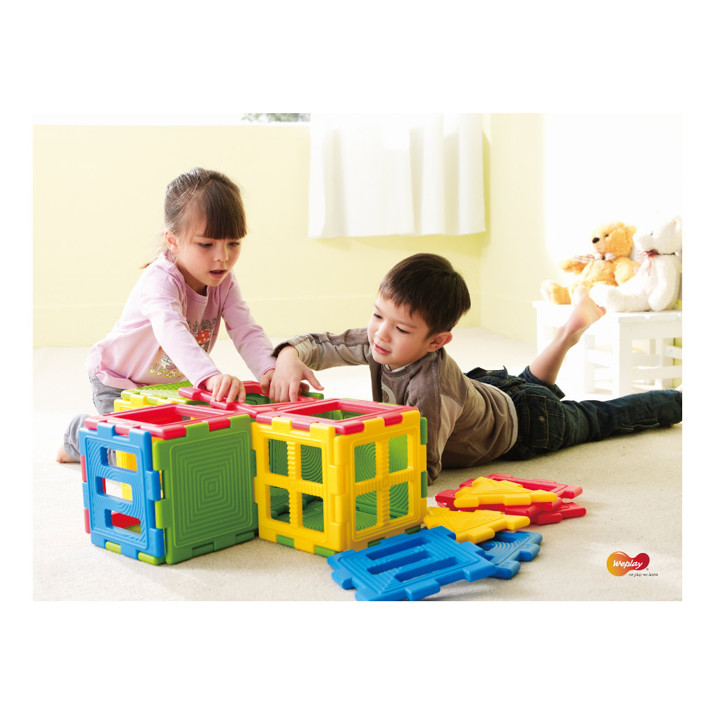 We-Blocks Mini 28 Stuks Weplay Wepl-Kc3002-028