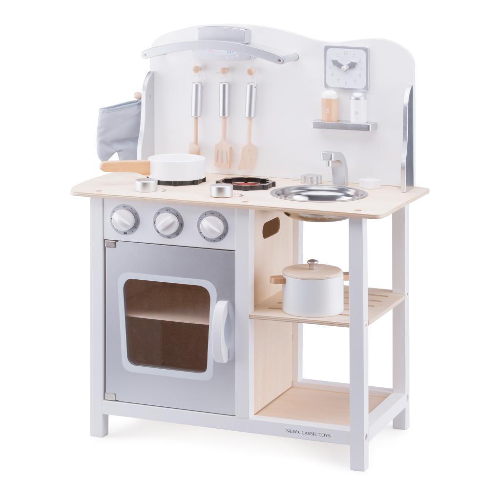 Bon Appetit Wit Zilver New Classic Toys Newc-11053