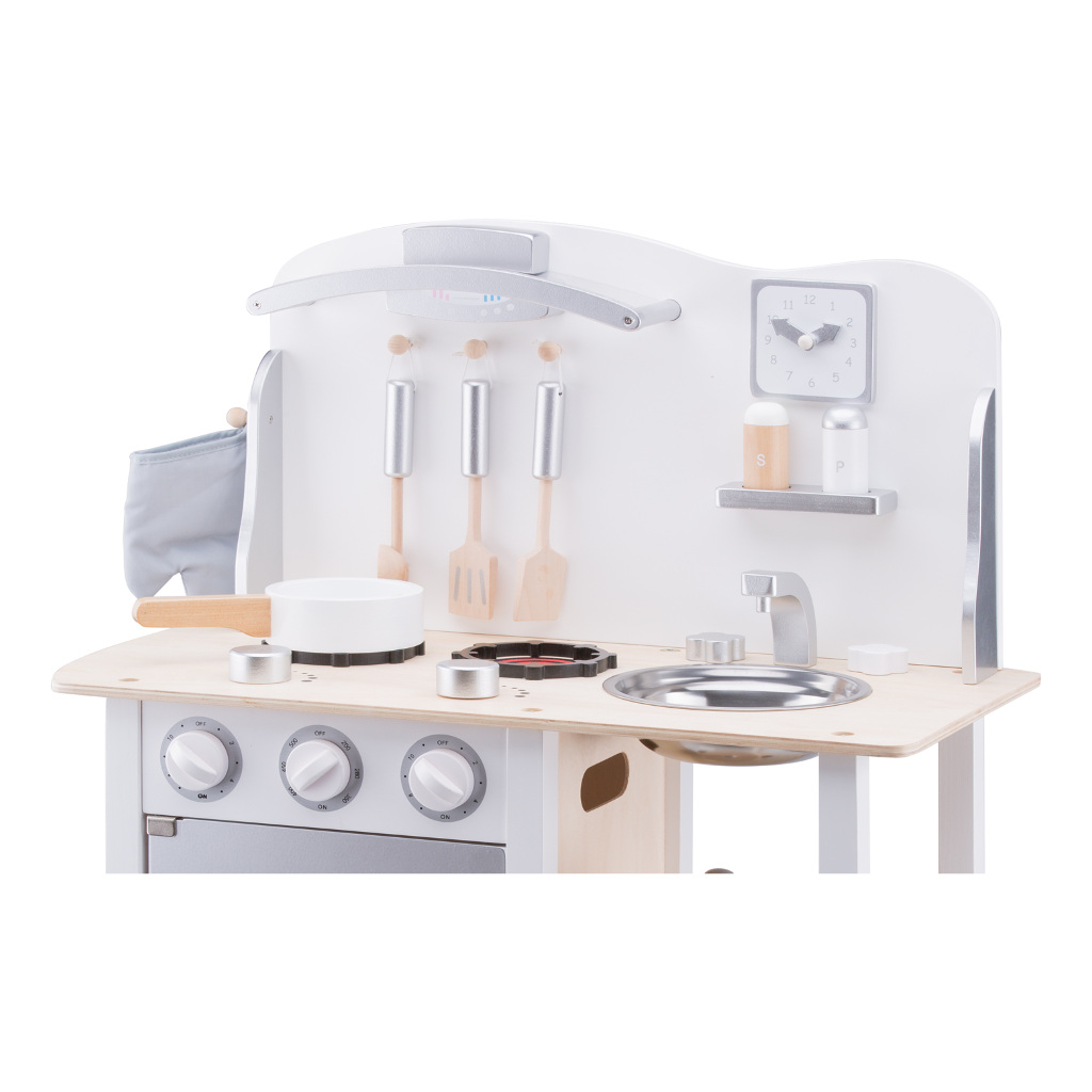 Bon Appetit Wit Zilver New Classic Toys Peuter Kleuter Jongen Meisje Newc-11053
