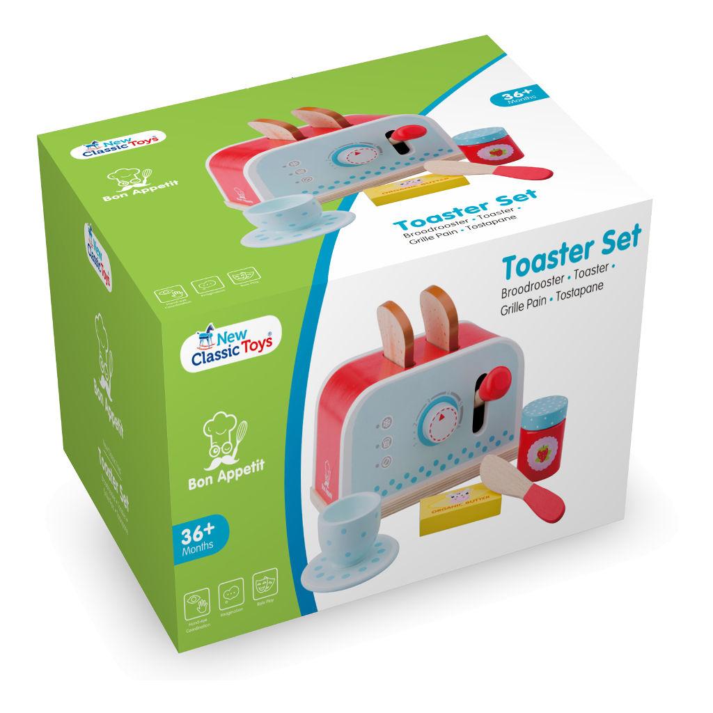 Broodrooster Set New Classic Toys Doos Verpakking Newc-10701