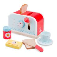Broodrooster Set New Classic Toys Hout Rood Blauw Newc-10701