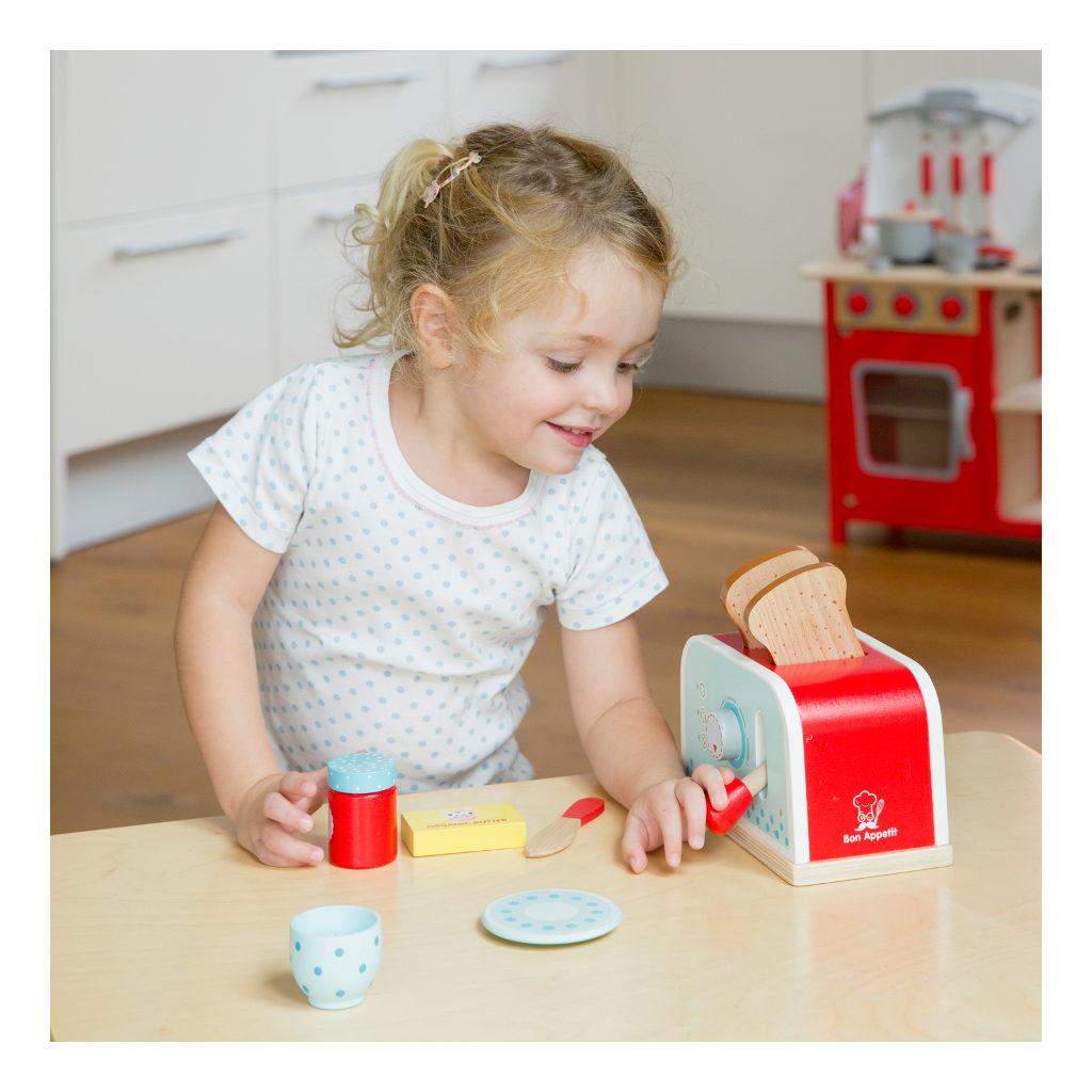 Broodrooster Set New Classic Toys Jongen Meisje Peuter Kleuter Newc-10701
