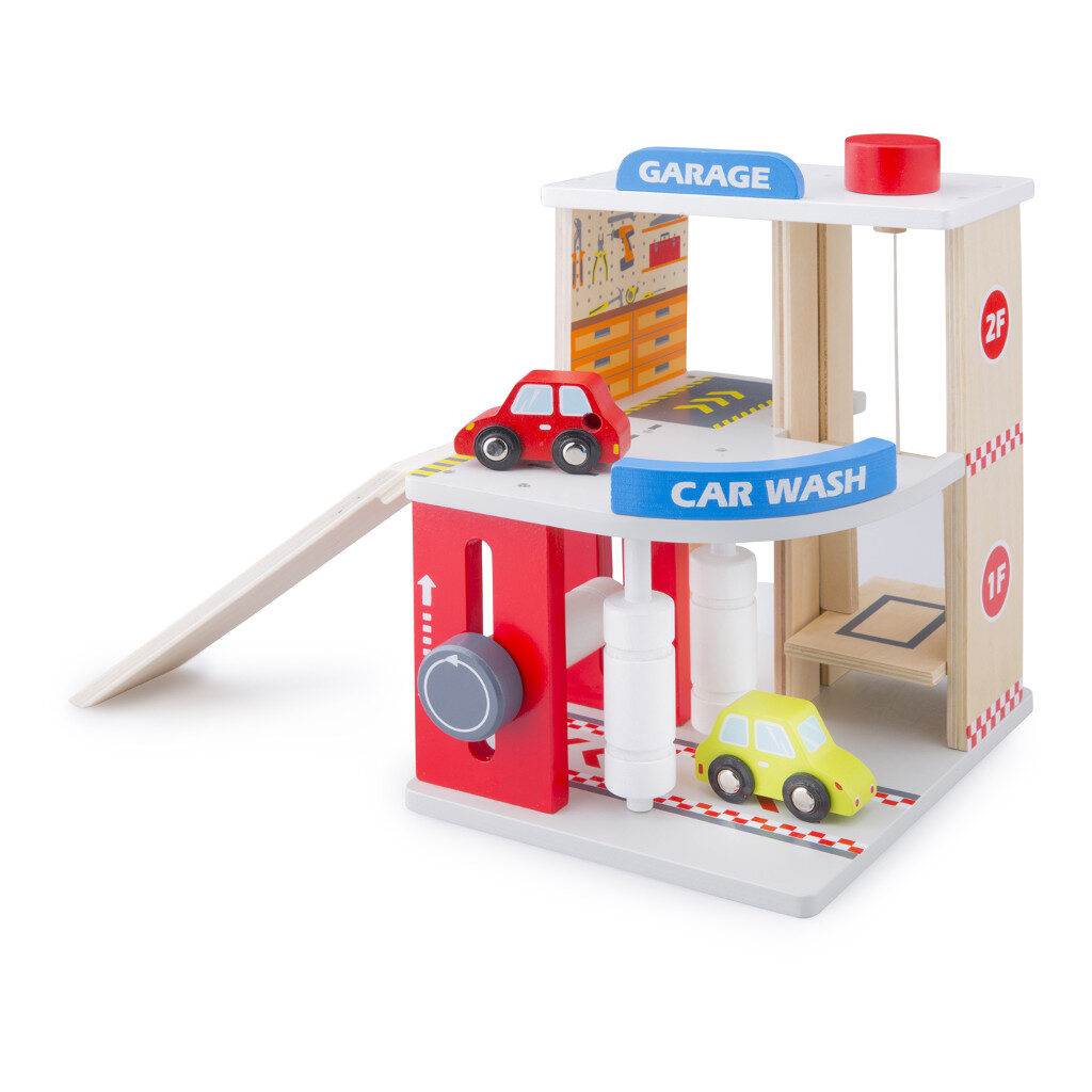 Carwash Garage New Classic Toys Newc-11041