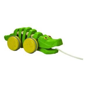 Dancing Aligator Plan Toys Trek Figuur Krokodil Plan-4005609