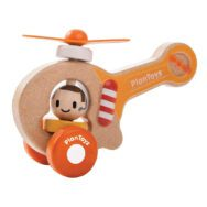 Helicopter Helicopter Draai Propelers Oranje Rubberwood Plan-4005685