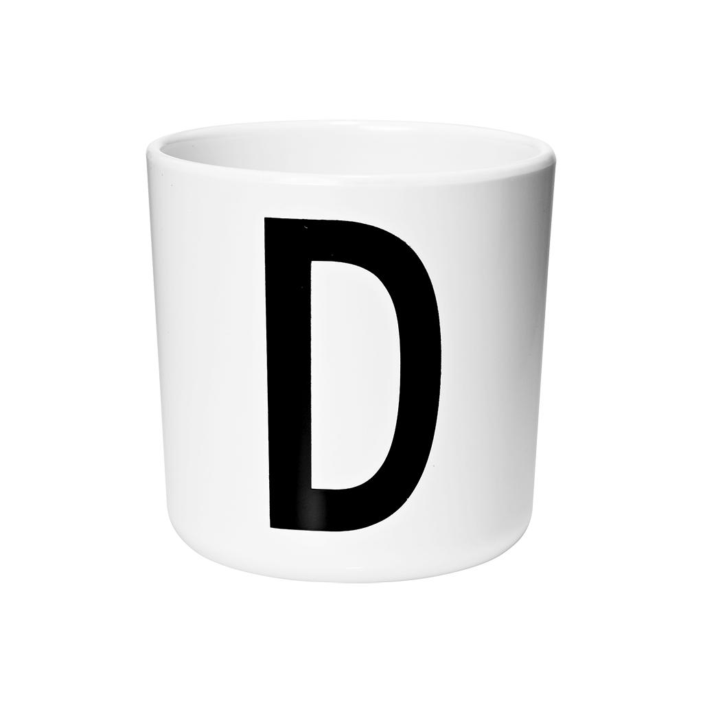 Letter Mok D Melamine Beker 6 Maanden Drink Tuit 200 Ml Design Letters Desi-20201000D