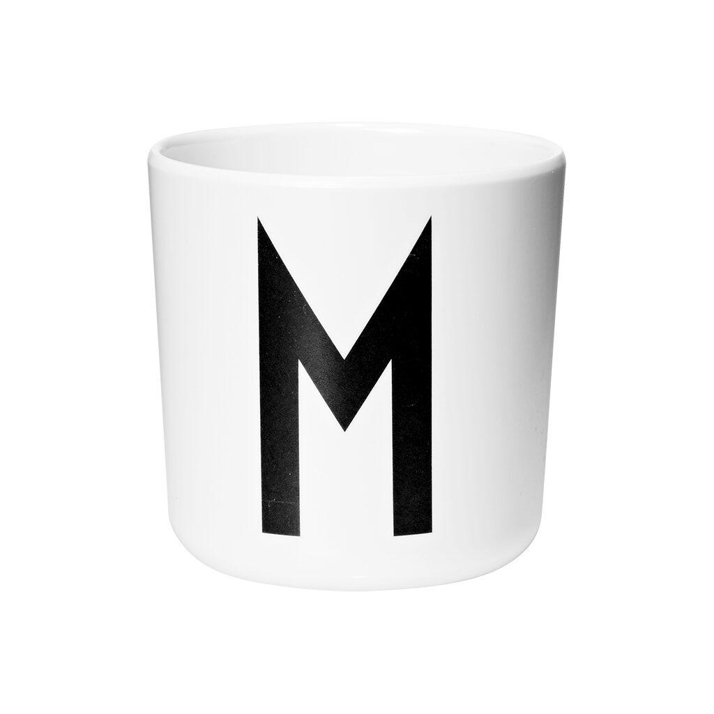 Letter Mok M Melamine Beker 6 Maanden Drink Tuit 200 Ml Design Letters Desi-20201000M