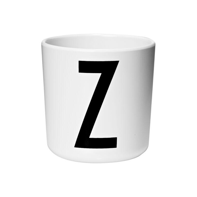 Letter Mok Z Melamine Beker 6 Maanden Drink Tuit 200 Ml Design Letters Desi-20201000Z