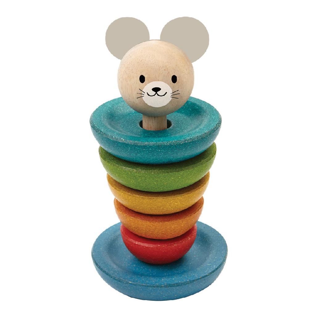 Stapel Ringen Verschillende Mogelijkheden Plan Toys Plan-4005681