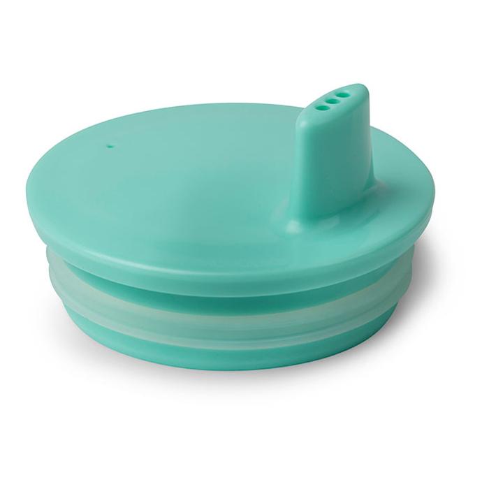 Tuitdeksel Turquoise Melamine Design Letters 6 Maanden Jongen Meisje Desi-20202300Turquo