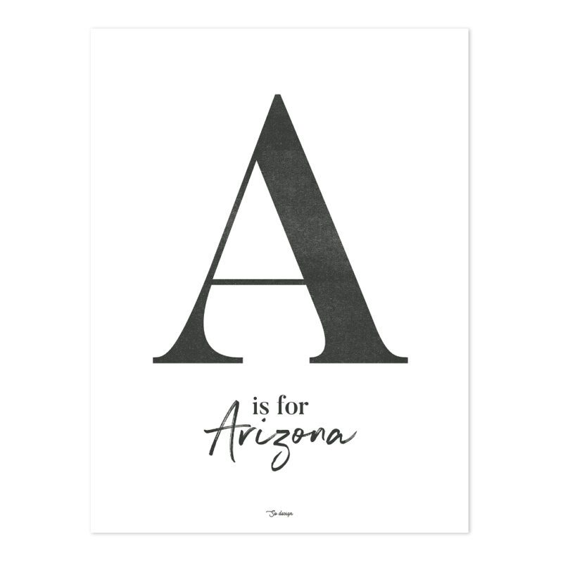 A For Arizona Poster   Wild West   Lilipinso