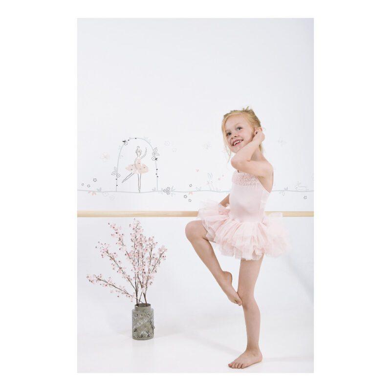 Ballerinas Theme Sticker Xl Lilipinso Ballerina Dans Lili-S1135