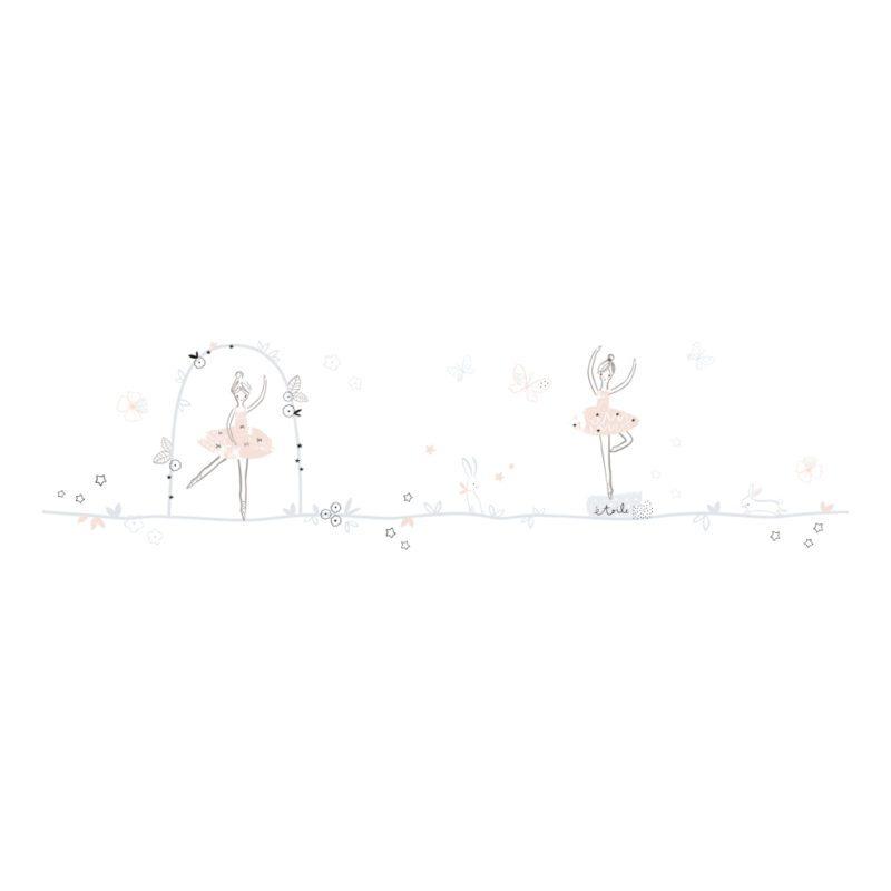 Ballerinas Theme Sticker Xl Lilipinso Decoratie Muur Kinderkamer Lili-S1135
