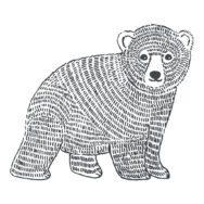 Bear Sticker Xl | Enchanted | Lilipinso
