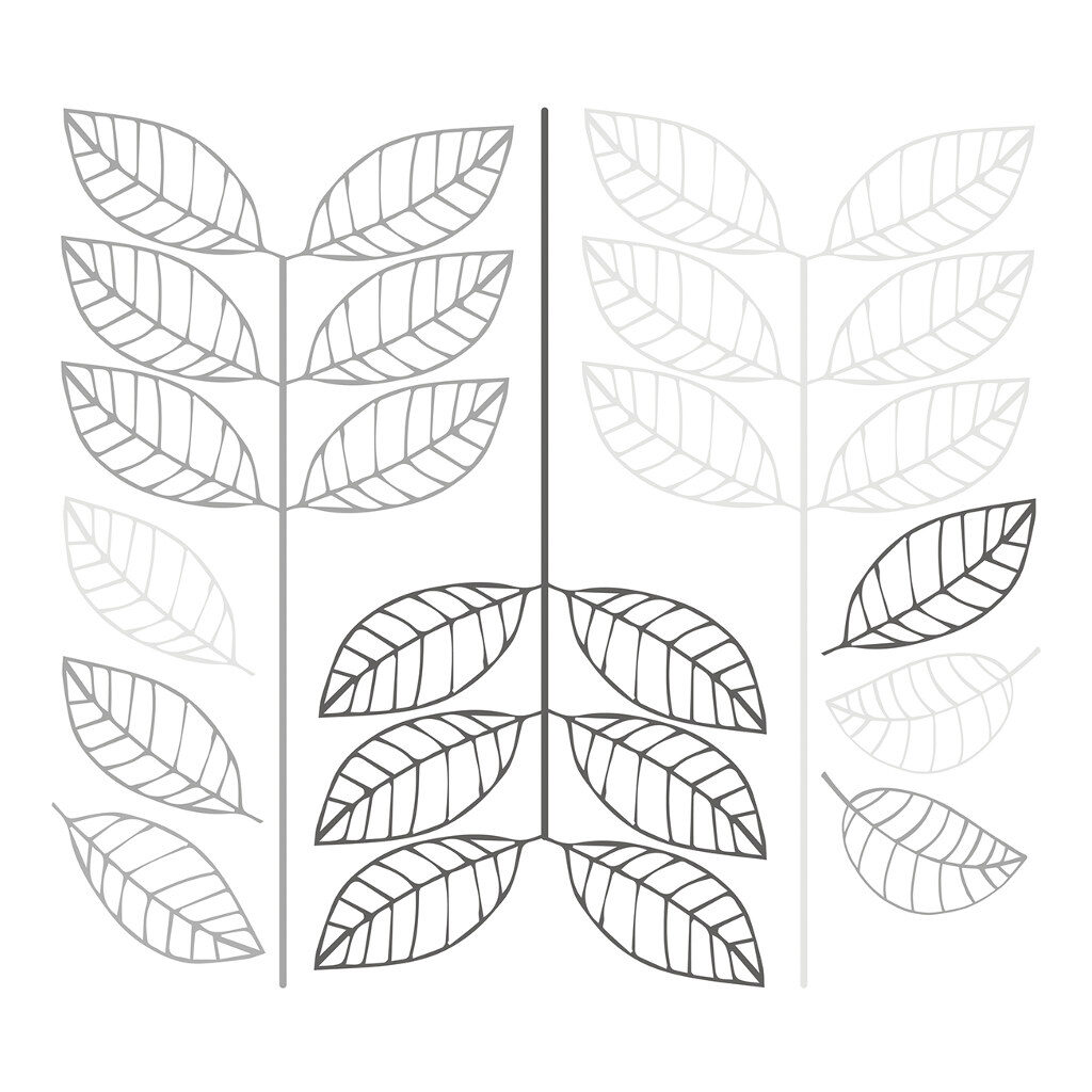 Big Leaves Sticker Xl Nordic Lilipinso Tak Blad Grote Bladeren Lili-S1149