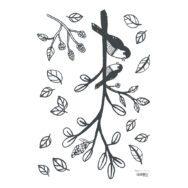 Bird On A Branch Muursticker A3 | Enchanted | Lilipinso
