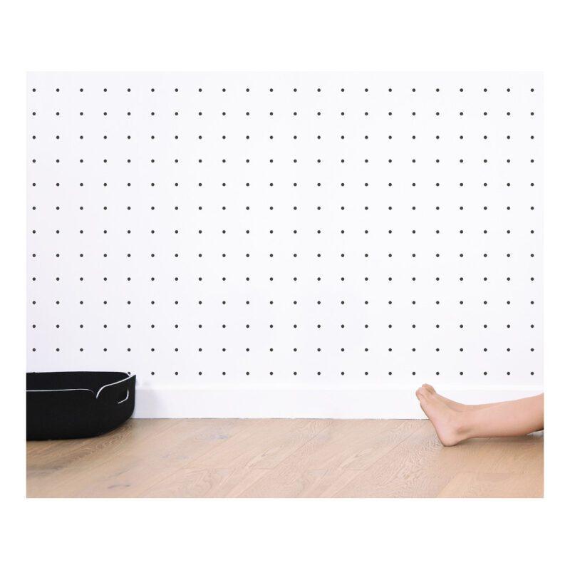Black Crosses On Background White Behang | Millimétré | Lilipinso